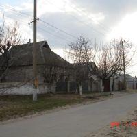 ukraine house and street, Берислав