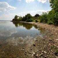 River shore in Beryslaw, Берислав