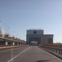 Каховская ГЭС / Hydro power plant, Великая Александровка
