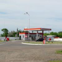 Бензогазозаправна станція НТС, Высокополье