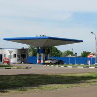 Бензозаправна станція Укрнафта - Авіас, Высокополье