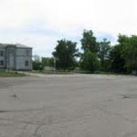 Панорама 360 №1: центр селища Високопілля  (Высокополье, Vysokopillya, Vysokopillia, Wyssokopillja), Высокополье