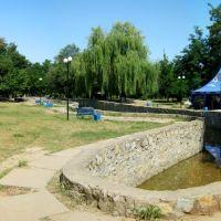 В парке летом 2011г., Геническ