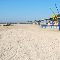 Пляж, Геническ