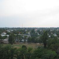 вид с высоты, Геническ