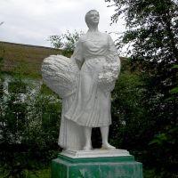 ... и колхозница, Голая Пристань