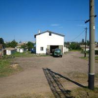 Гараж. A garage., Горностаевка