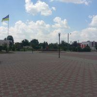 Площадь, Каланчак