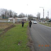 """дорога к мосту через речку """"Каланча"""", Каланчак"""