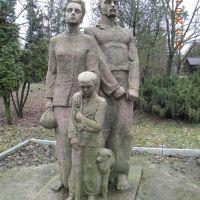 памятник первопоселенцам, Каланчак