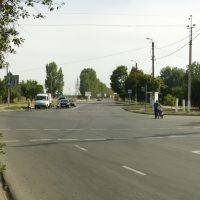 перекрёсток ул. К. Либкнехта и Золина, Каховка