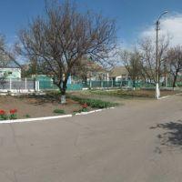Улица Ленина. Апрель. Панорама., Нижние Серогозы