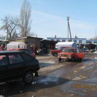 рынок возле автовокзала, Нововоронцовка