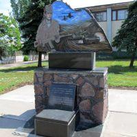 Памятник воїнам-інтернаціоналістам у Нововоронцовці, 2012, Нововоронцовка