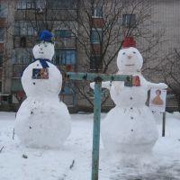Зима и выборы в нашем дворе, Новотроицкое