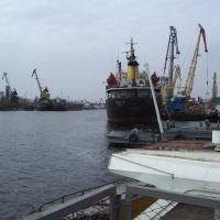 port of cherson, dnepr river, Херсон