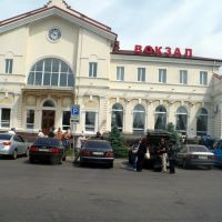 Kherson train terminal. June, 2009, Херсон