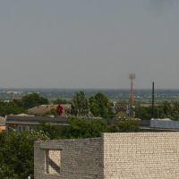 Вид на Херсон и Цюрупинск, Херсон
