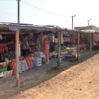 Придорожный рынок в Чаплинке. Август 2009, Чаплинка