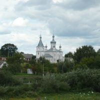 Вид на церковь, Антонины