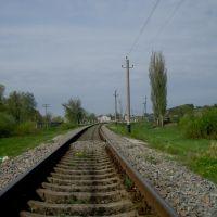 Железнодорожная линия Тернополь - Шепетовка. Перегон Белогорье - Суховоля, Белогорье