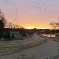 Захід сонця.Дорога біля ставу, Виньковцы