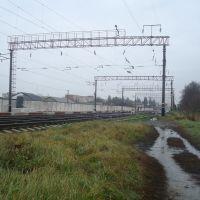 Станция Волочиск. Вид в сторону Войтовцов, Волочиск