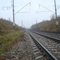 Железнодорожная линия Жмеринка - Подволочиск. Перегон Волочиск - Подволочиск, Волочиск