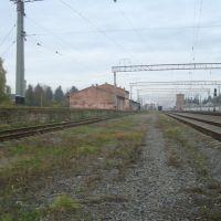 Станция Волочиск. Грузовая рампа., Волочиск