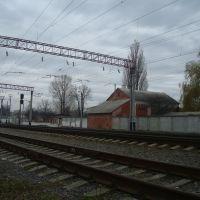 Станция Волочиск. Вид в сторону Подволочиска, Волочиск