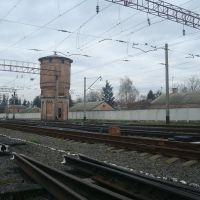 Станция Волочиск. Водонапорная башня, Волочиск