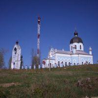 Церковь+телевышка, Городок
