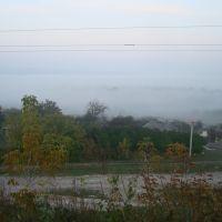 Городок в тумане, Городок