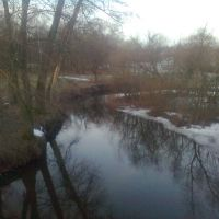 річка з моста, Грицев
