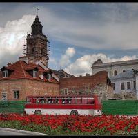Near the central square, Каменец-Подольский