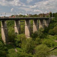 Новоплановский (Александровский) мост, 1874, Каменец-Подольский