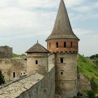 башня крепости, Каменец-Подольский