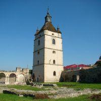 Камянець - Дзвіниця і руїни вірменського костелу, Kamianets - bell tower and ruins of the armenian church, Каменец-Подольский