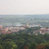 """Вид на старый город из отеля """"7 дней""""/View of the old city from the hotel """"7 days"""", Каменец-Подольский"""