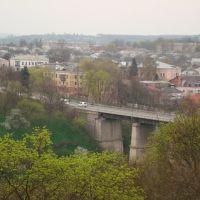Вид на Новоплановский мост, Каменец-Подольский