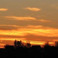 Захід сонця. Красилів., Красилов