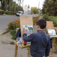 рисуем дом культуры, Красилов