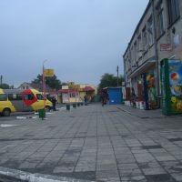 Автовокзал и платформа, Староконстантинов