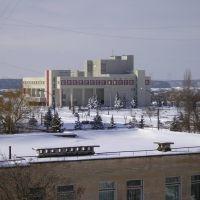 Вид на ДК из дома на Курчатова, Нетешин