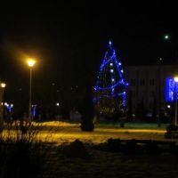 Netishyn winter night 2, Нетешин