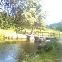 Шлюз на початку Сачикового ставка, Городище