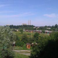 Вид из окна на ВОК, Ерки