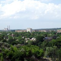 City of Vatutine, view from the South, Ерки