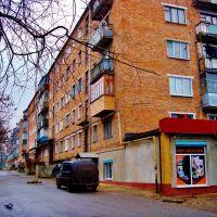 Дом на углу ул.Кирова и прос.Шевченко, вид со двора., Звенигородка