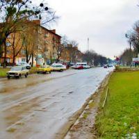 04.01.2007 11:58 Проспект в январе., Звенигородка